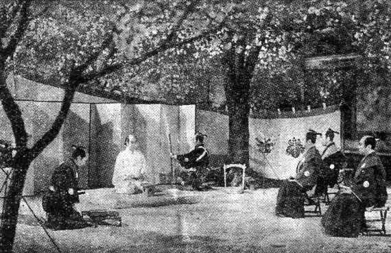 忠臣蔵新聞第057号-伝八郎が庭前...