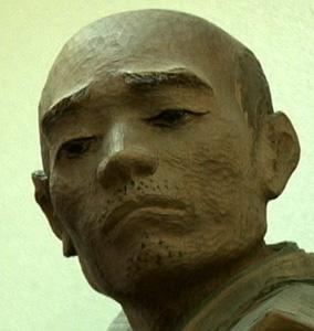... 木像(赤穂大石神社蔵